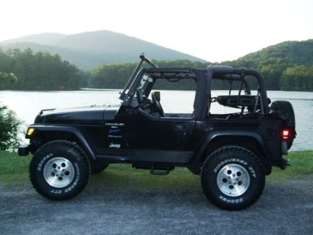 """Tripper's"" 1997 Jeep Wrangler / Mountain Mercedes"